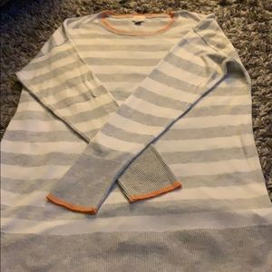 A new day striped tunic